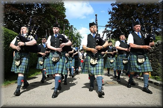 Helensburgh Pipe Band Competition